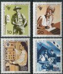 (1969) MiNr. 342-345 ** - Berlín - západní - IPTT kongres