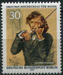 (1969) MiNr. 347 ** - Berlín - západní - Hudební univerzita v Berlíně