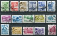 (1971) MiNr. 2953 - 2968 - O - Rumunsko - Pošta a doprava