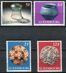 (1976) MiNr. 924 - 927 ** - Lucembursko - Kultura: Archeologické objekty z období merovingů