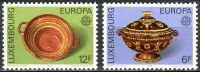 (1976) MiNr. 928 - 929 ** - Luxemburg - Europa: Kunsthandwerk