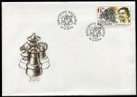 (1996) FDC 102 - ČR- šachy
