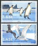 (2017) MiNr. 968 - 969 ** - Französisch Antarktis - Einheimische Vögel