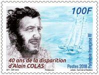 (2018) MiNr. 1389 ** - Fr. Polynesie - 40. výročí smrti Alaina Colase