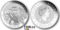 (2019) Austrálie - 1 dollar (stříbrná mince)  Kookaburra (UNC)