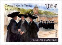 (2019) MiNr.  ** - Andora (Fr.) - Consell Terra