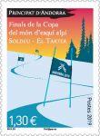 (2019) MiNr.  ** - Andora (Fr.) - Konec Světového poháru v alpském lyžování