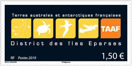(2019) MiNr.  ** - Francouzská Antarktida - logo