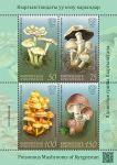 (2019) MiNr.  ** - Kyrgyzstán - BLOCK - Jedovaté houby z Kyrgyzstánu