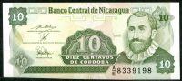 Nikaragua (P169a.1) - 10 centavos (1991) - UNC