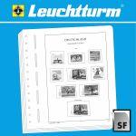 Albové listy Berlín 1948-1959 - SF - zasklené (16 listů)