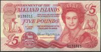 Falklandy (P 17) - 5 pounds (2005) - UNC