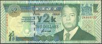 Fiji (P 102) - 2 dollars (2000) - příležitostná bankovka - UNC