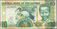 Gambie - (P 26c) 10 Dalasis (2013) - UNC