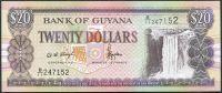 Guyana (P 30b.1) - 20 dolarů (1996) -  UNC