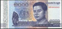 Kambodža (P 68) - bankovka 1000 Riels (2016) - UNC