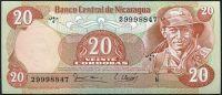 Nicaragua (P 135) - 20 Cordobas (1979) - UNC