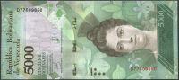 Venezuela (P 97c) - 5000 bolivares (13.12.2017) - UNC