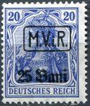 (1917) MiNr. 2 ** - DR/ M.V.R - přetisk 25 Bani