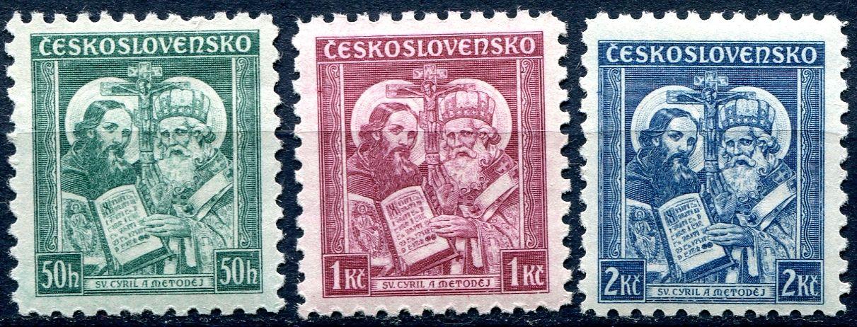 (1935) č. 292 - 294 ** - ČSR I. - Úmrtí sv. Metoděje