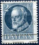 (1919) MiNr. 110 - O - Bayern - Král Ludvík III. - přetisk