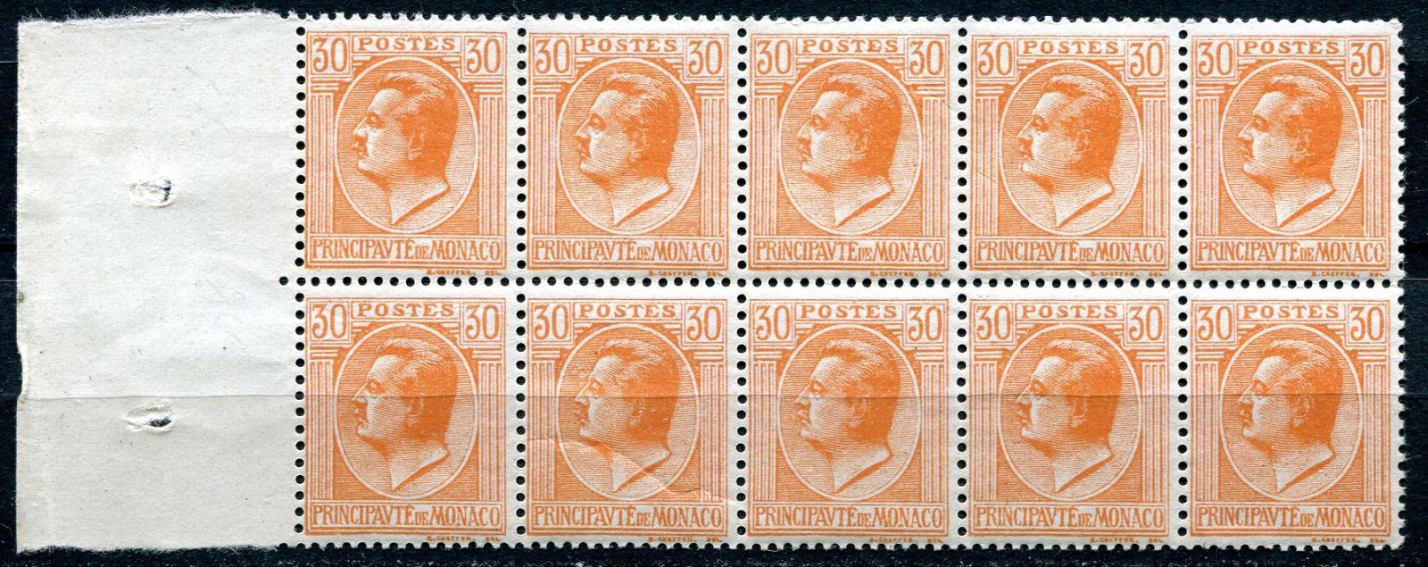(1924) MiNr. 84 ** - Monako -  kníže Louis II.