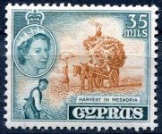 (1955) MiNo. 172 ** - Cyprus - History and present