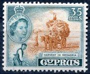 (1955) MiNr. 172 ** - Kypr - Historie a současnost.