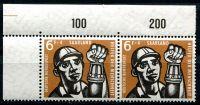 (1957) MiNr. 404 ** - sp - Saarland - těžba uhlí (roh + počítadlo)