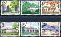 (1964) MiNr. 788 - 793 - O - Čína - Yenan - místa revoluce