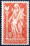(1965) MiNr. 449 ** - Lichtenštejnsko - Madona ze Schellenbergu