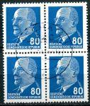 (1967) MiNr. 1331 - O - 4-bl -  DDR - Walter Ulbricht