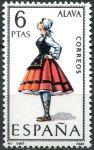 (1967) MiNr. 1662 ** - Španělsko - Kroje (I.) Alava
