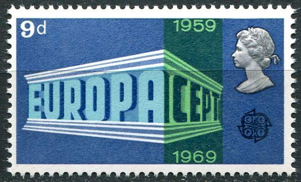(1969) MiNr. 512 ** - Velká Británie - Europa