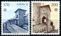 (1978) MiNr. 1156 - 1157 ** - San Marino - Europa