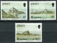 (1978) MiNr. 177 - 179 ** - Jersey - EUROPA
