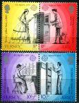 (1979) MiNr. 192 - 195 ** - Jersey - EUROPA