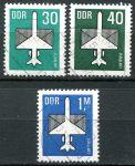(1982) MiNr. 2751 - 2753 - O - DDR - letecké známky (I.)