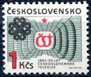 (1983) č. 2583 ** - Československo - 30 let československé televize