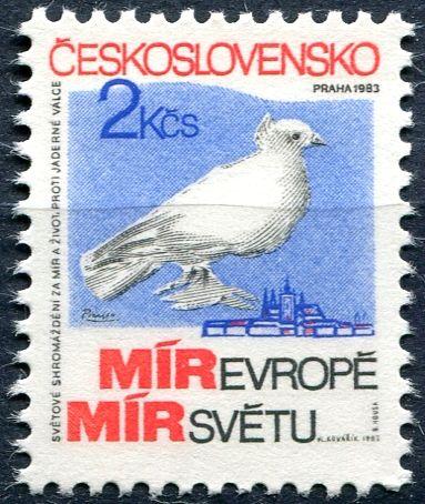 (1983) č. 2596 ** - Československo - Sovětské shromáždění za mír a život