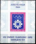 (1983) MiNr. 2013 ** BLOCK 22 - Jugoslávie - ZOH Sarajevo