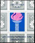(1984) MiNr. 2033 ** BLOCK 24 - Jugoslávie - ZOH Sarajevo
