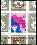 (1984) MiNr. 2034 ** BLOCK 25 - Jugoslávie - ZOH Sarajevo