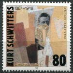 (1987) MiNr. 1326 ** - Německo - K. Schwitters - koláž