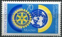 (1987) MiNr. 1327 ** - Německo - Rotary klub, Mnichov