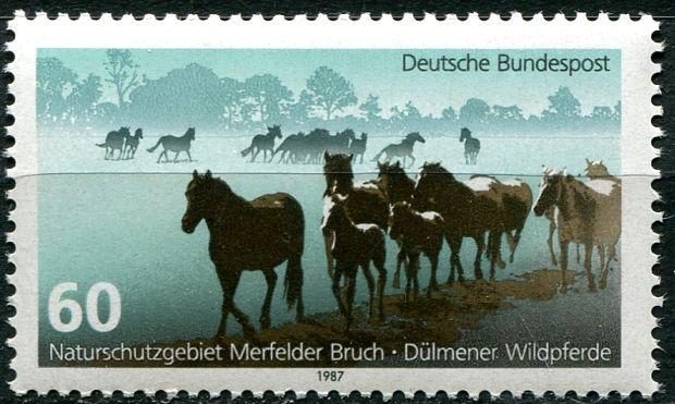 (1987) MiNr. 1328 ** - Německo - divocí koně