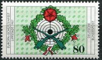 (1987) MiNr. 1330 ** - Německo - Evropský puškový festival