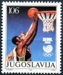 (1988) MiNr. 2267 ** - Jugoslávie - LOH Seoul - Basketball