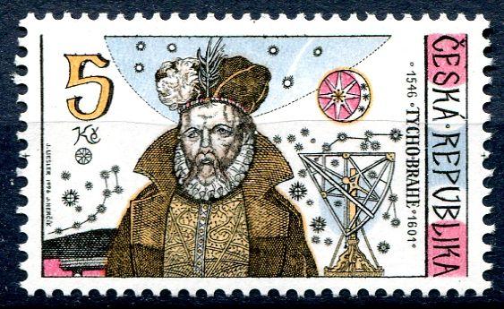 (1996) č. 125 ** - Česká republika - Tycho Brahe