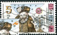 (1996) č. 125 - O - ČR - Tycho Brahe - VV 40/2 - nedotisk na čepici